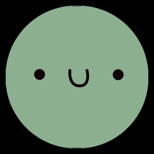 Cute planet Uranus flat