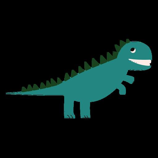 Trex dinosaur flat