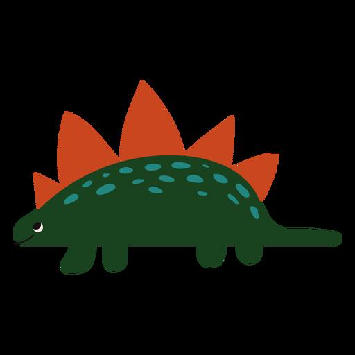Cute Stegosaurus flat