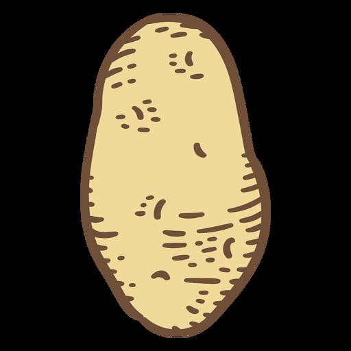 Potato ingredient color stroke