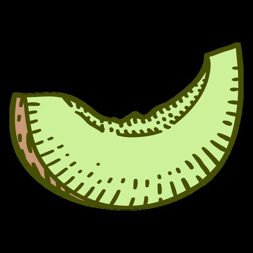 Honeydew fruit color stroke