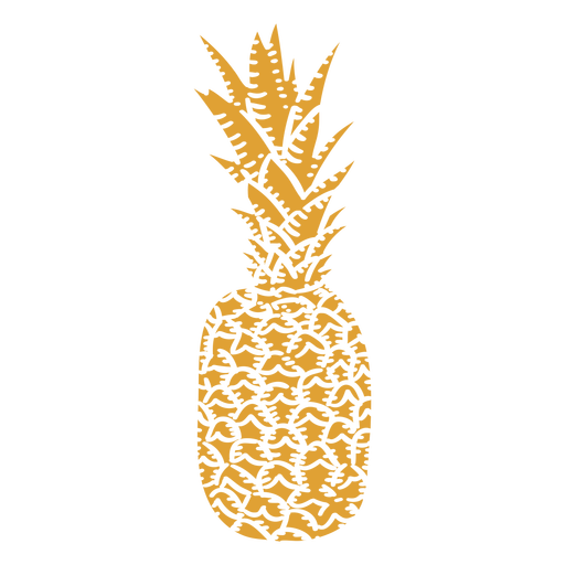 Pineapple ingredient cut-out