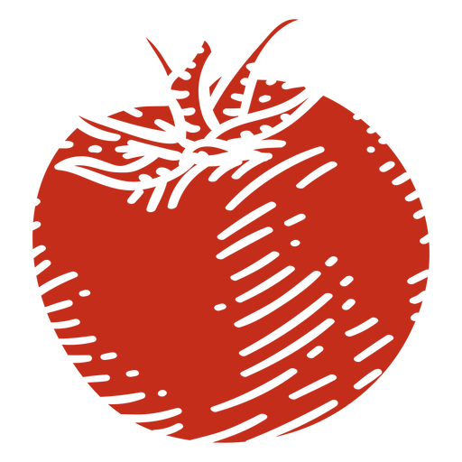 Tomato ingredient cut-out