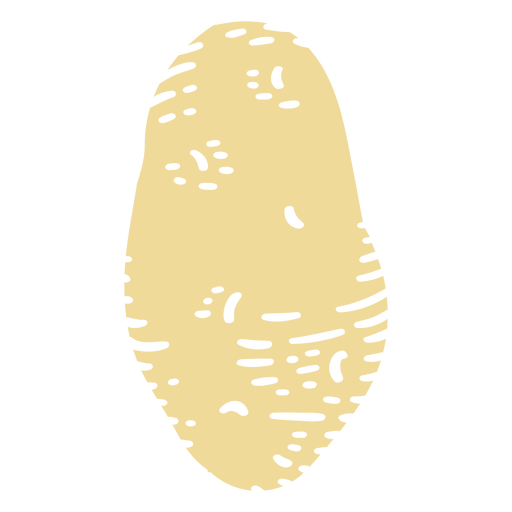 Potato ingredient cut-out