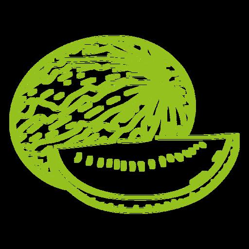 Watermelon fruit stroke