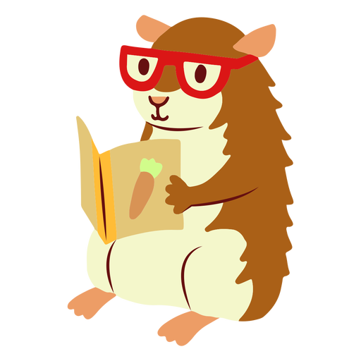 Reading guinea pig flat
