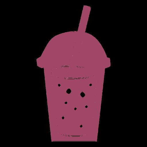 Bubble tea color cut out