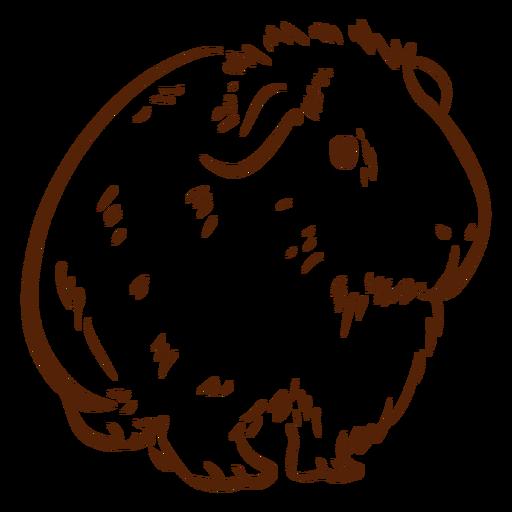 Simple guinea pig doodle