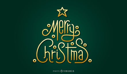 Gold Christmas vector elements 21