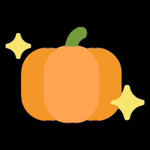 Sparkly pumpkin flat