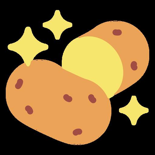 Sparkly potato flat