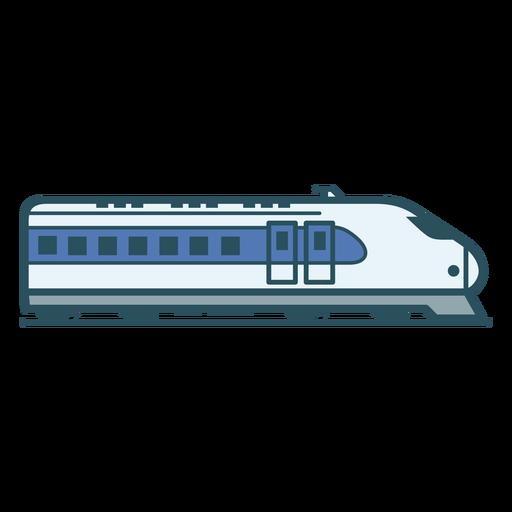 Bullet train color stroke
