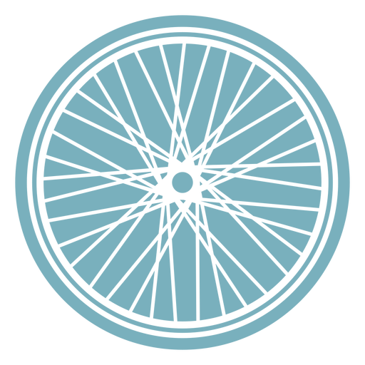 Bicycle wheel cut-out