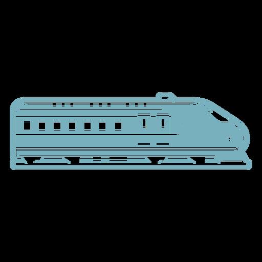 Bullet train cut-out