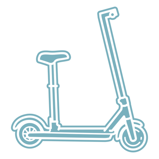 Scooter transport cut-out