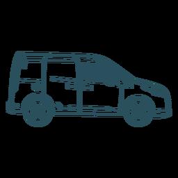 Small van profile stroke