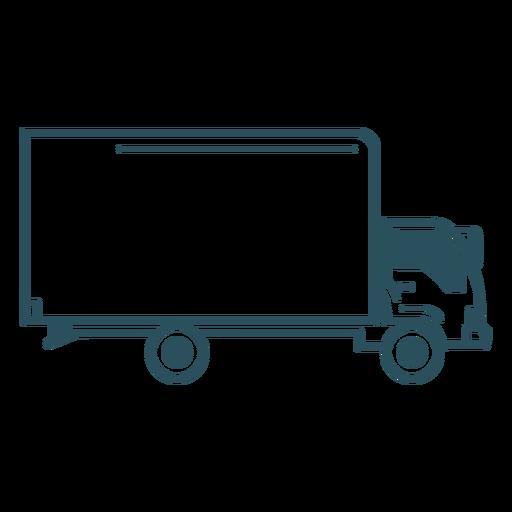 Simple truck transport stroke