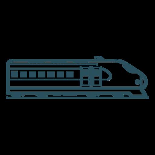 High speed train stroke