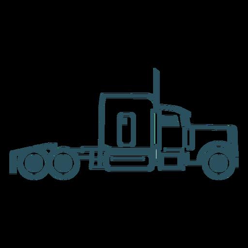 Truck transport stroke