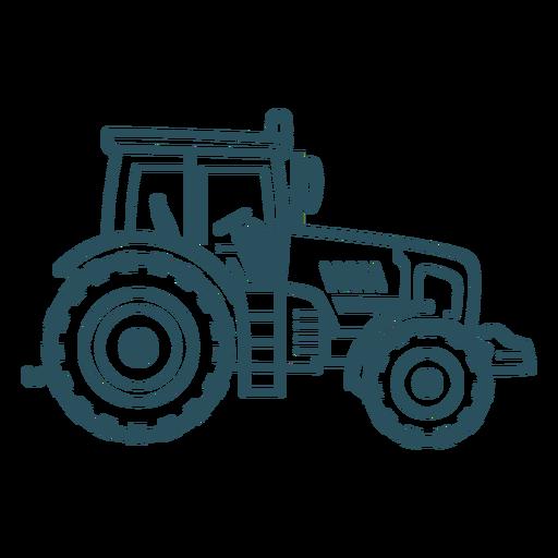 Tractor transport stroke