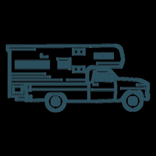 Camper truck stroke