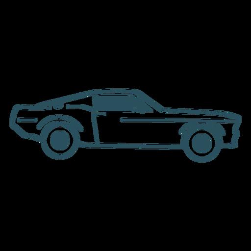 Car icon stroke