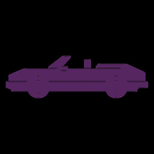 Convertible car cut-out