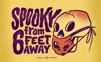 Letras de covid de halloween
