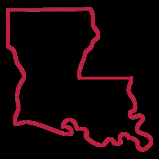 Louisiana state stroke map