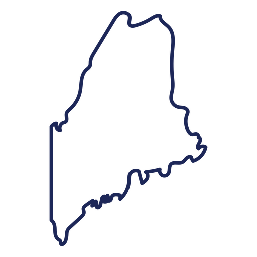 Maine state stroke map