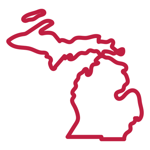 Michigan state stroke map