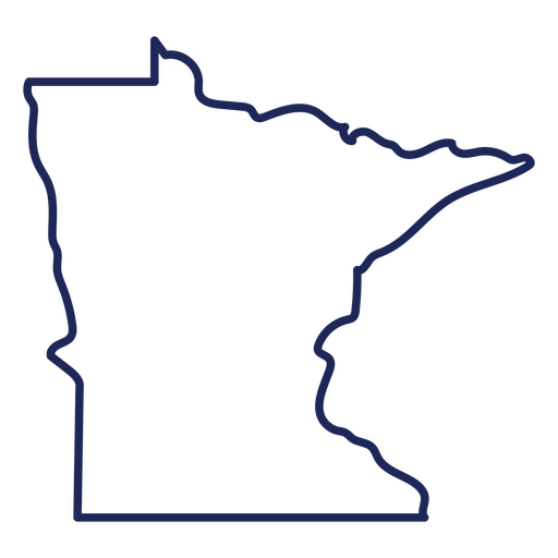 Minnesotta state stroke map