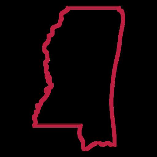 Mississippi state stroke map