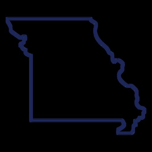 Missouri state stroke map