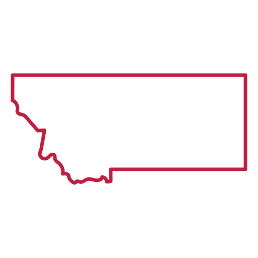 Montana state stroke map