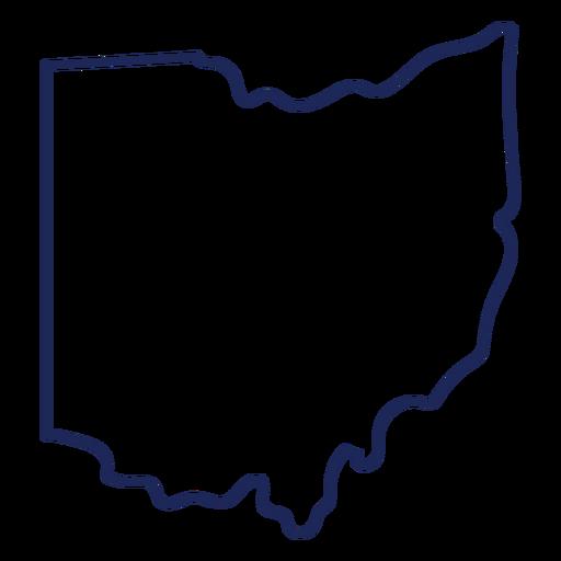 Ohio state stroke map