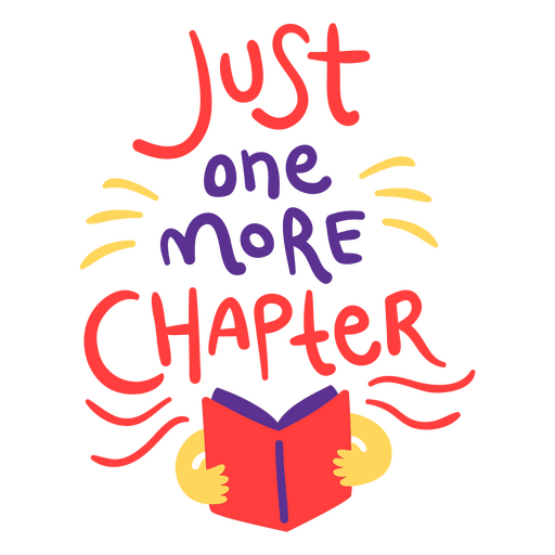 Just one more chapter reading quote semi flat