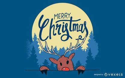 Weihnachtsvektorabbildung 2