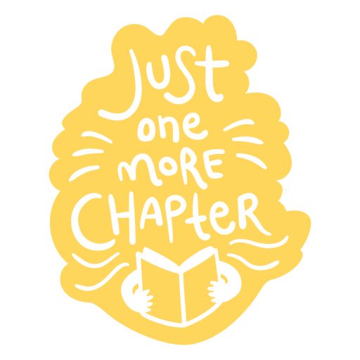 Person reading book badge