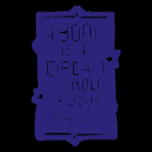 Reading books badge