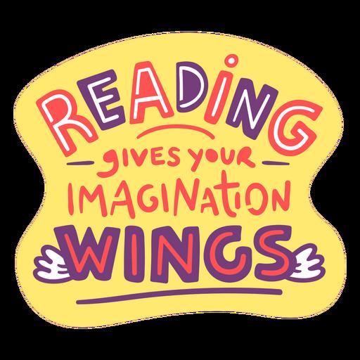 Reading quote badge