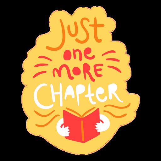 Reading books flat badge
