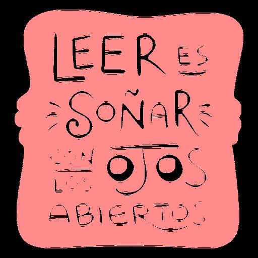 Spanish reading books badge