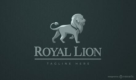 Lion wild animal business logo design