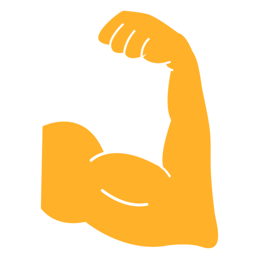 Arm muscles cut out