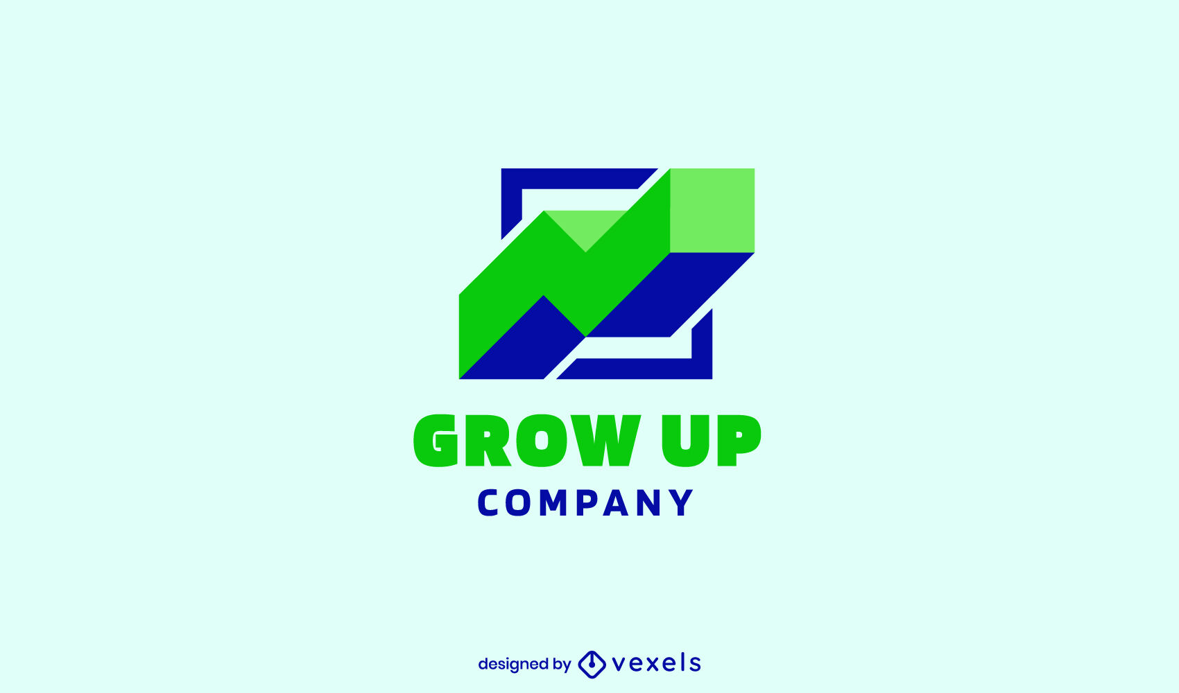 Ascending graph grow up logo