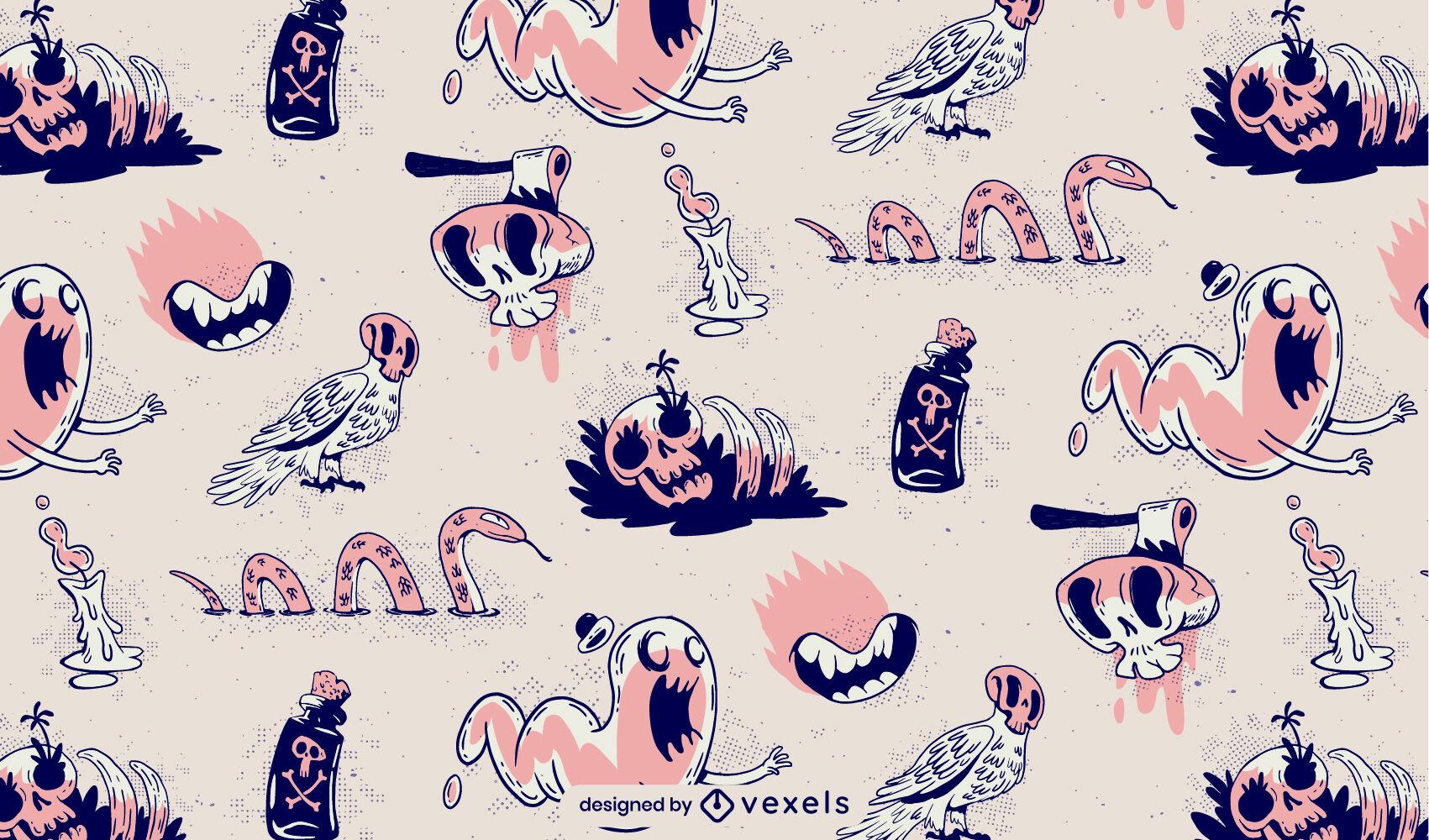 Halloween Doodle Monster Muster