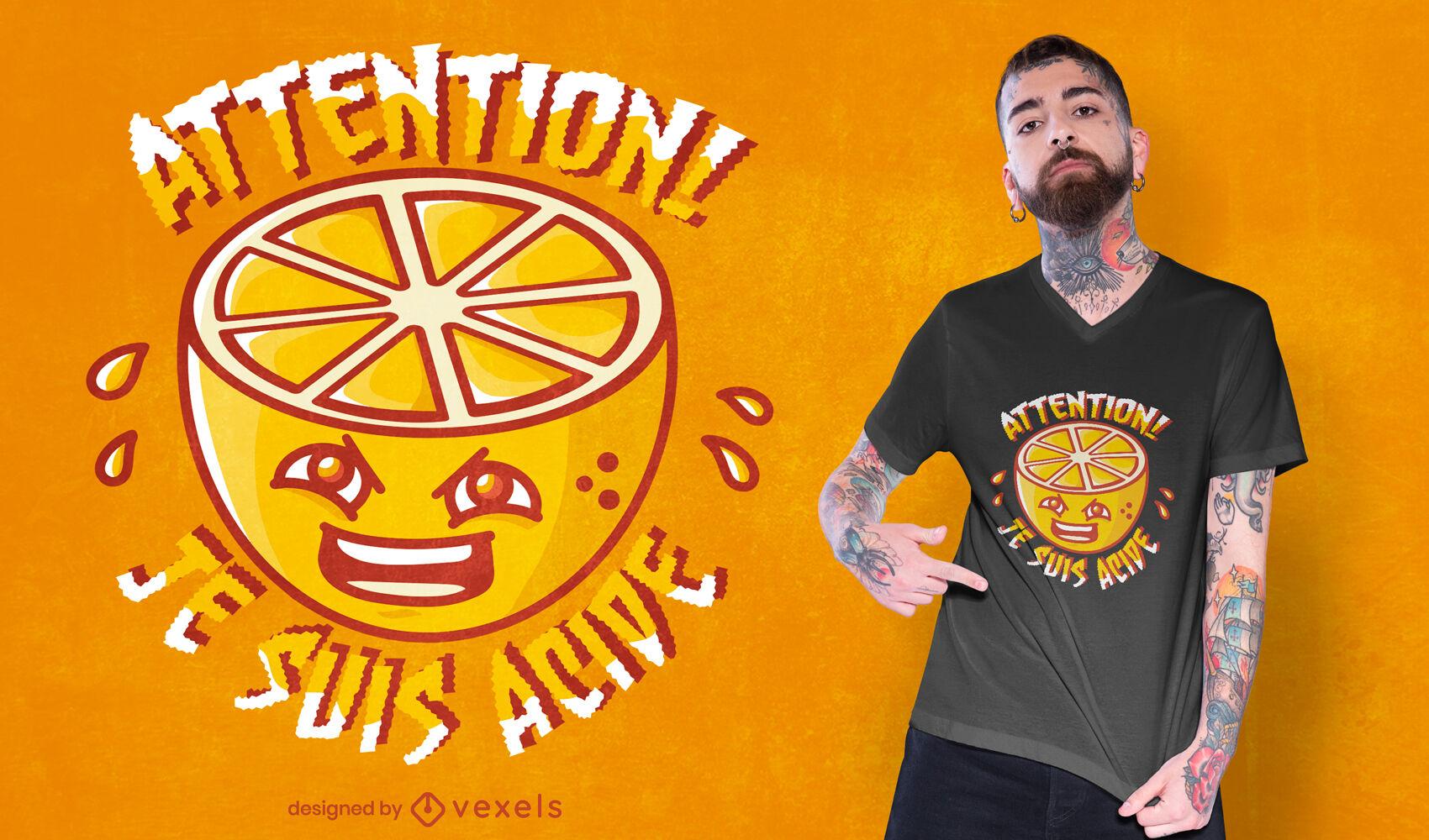 I am sour t-shirt design