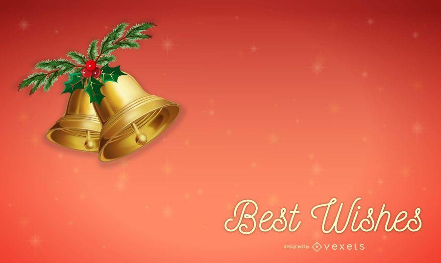 Navidad mejores deseos tarjetas vector