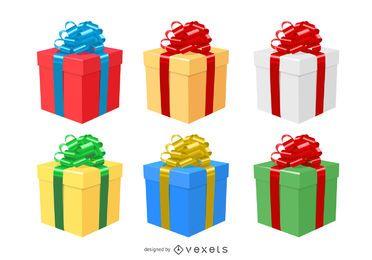 Vektorweihnachten 2011 Gestaltungselemente 1